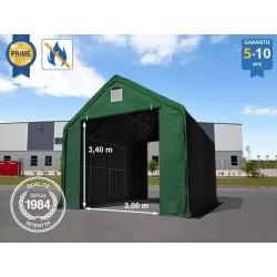 5x8 m Hangar , porte 3x3,4...