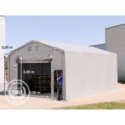 5x8m hangar, PVC de 550...