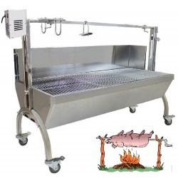BBQ GRILL PRO INOX + PARE...