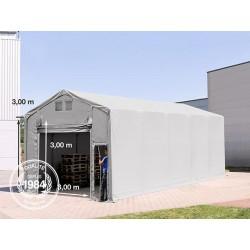 4x10m hangar, PVC de 550...