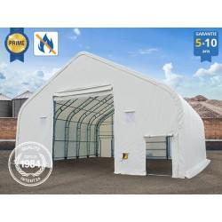 12x12m hangar, châssis 1m,...